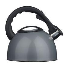 Té café Silbando Hervidor De Plata Acero Inoxidable 2.5Ltr para cocina de casa Ejercicio
