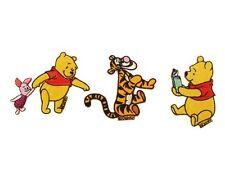 Winnie the Pooh Disney Aufbügel Flicken Bügelbilder 3Stück verschiedene Motive