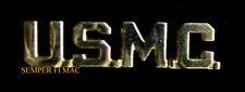 US MARINES USMC SCRIPT HAT LAPEL PIN UP GOLD PLATED VETERAN GIFT MAR DIV MAW WOW