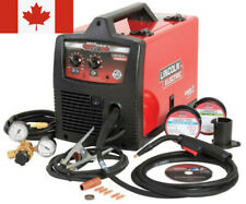 Lincoln electric pro mig welder, 180c, welding kit, flux core, wire feed, auto,