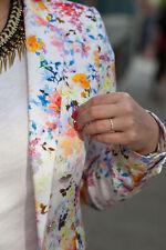 Zara Cotton Floral Button Coats & Jackets for Women
