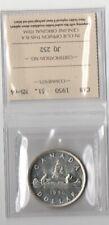 Canada 1950 Silver Dollar ICCS MS-64 Beautiful Shiny Definitely King George VI