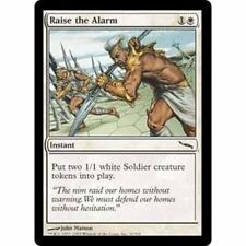 3x MTG Raise The Alarm NM - Mirrodin