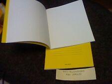 """100 X qualità Oxford QUADERNI Plain Unruled 8""""x6.5"""" - Made in U.K. vendita offerta"""