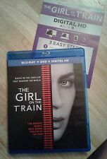The Girl on the Train (Blu-ray,DVD,Digital HD)Authentic US RELEASE