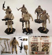 6 pcs US 101st Airborne Division Action Figure Models Toy Soldiers Army Men 1:18