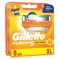 """ genuine "" Gillette Fusion 5 Power Blades Men Shaving / Razor / Blade (Sealed)"