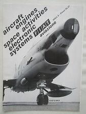 5/1969 PUB FIAT AVIAZIONE FIAT G.91 Y GENERAL ELECTRIC J85-GE-13A LE BOURGET AD