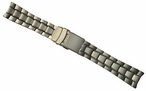 TRASER Luminox TITANIUM 22mm WATCH BAND Strap SOLID END LINKS 31 3200 3400 3600