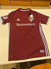 Adidas Authentic MLS Jersey Colorado Rapids Team Burgundy sz Small Men's