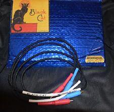 Stereovox BLACK CAT Morpheus CAVO DI INTERCONNESSIONE RCA (1M) coppia-Nuovo di Zecca