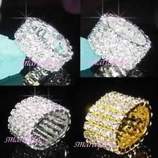 Diamond Round Costume Rings