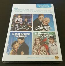 Greatest Classic Films: Holiday (DVD) Christmas In Connecticut, A Carol NEW