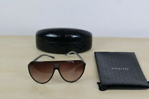 Ladies Authentic Guess GU 6597 BRN-34 Sunglasses with Case and Pouch
