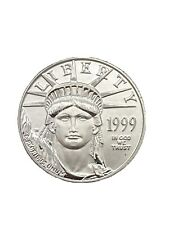 1999 $25 Platinum American Eagle 1/4 Oz