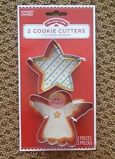Star & Angel Cookie Cutters for Christmas, Holiday or Winter  ~ NEW ~