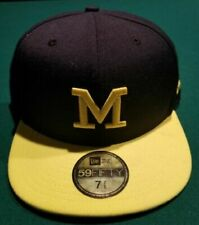 Era Michigan Wolverines 59fifty Basic Fitted Hat 7 7/8