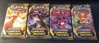 1 Pokemon Booster Pack Schwert&Schild Flammende Finsternis deutsch  NEU & OVP