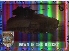 Topps 75th Anniversary Parallel Rainbow Foil Base Card 98 Desert Storm