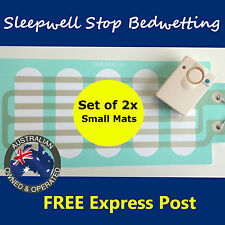 Bed Wetting Mattress Alarm Small -Twin Pack- Bedwetting Enuresis Child Urine Mat