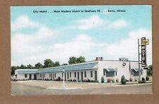 "Cairo,IL Illinois, City Motel ""most modern motel in southern Ill."""