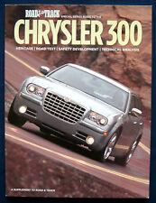 Prospekt brochure Sonderdruck Road and Track Chrysler 300 (USA)