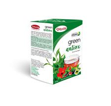 Morlife Teabags Green Antiox 25's x2 | Antioxidant | Energy | Herbal Tea