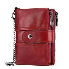 Wallets Multifunctional Buckle In Leather Men's Zipper Bag Leisure Coin Purse