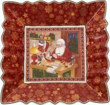 Villeroy & Boch Toy's Fantasy Square Bowl Santa Workshop
