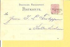 Pr BP / HOMBERG / I / GLADBACH L3 auf DR P12 1884