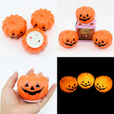 Led Hanging Pumpkin Halloween Decoration Plastic Light Jack O Lantern Lamp Decor