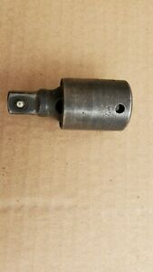 """Snap-On IP80D 1/2"""" Drive Swivel Ball Lock Button Impact Universal Joint"""
