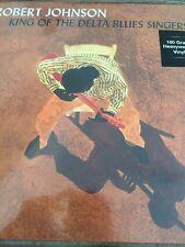 ROBERT JOHNSON 'KING OF THE DELTA BLUES SINGERS' 2 X LP VINYL NEW / SEALED