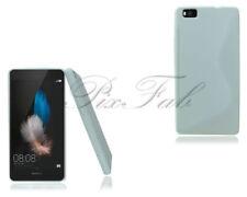 Fundas y carcasas Huawei color principal blanco de silicona/goma para teléfonos móviles y PDAs