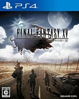 USED PS4 Final Fantasy XV japan import
