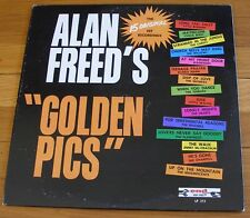 """Doo-Wop Various Artists 1962 End LP Alan Freed's """"Golden Pics"""" Nutmegs Willows"""