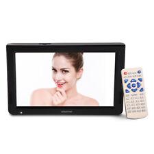 Tragbar 10 Zoll LED Fernseher DVB-T2 Digital Mediaplayer USB/TF wiederaufladbar