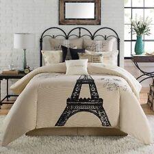 Anthology Paris Tan Twin Extra Long Bedskirt   NIP