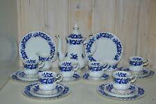 Royal Albert-Porzellan-Bone China-England-Aristocrat-Kaffeeservice-Komplett-21Tl