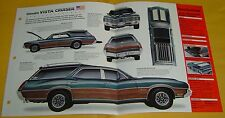 1972 Oldsmobile 442 Vista Cruiser 455 ci 300 Info/Specs/photo only 3 were built