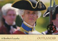 Outlander Season 2 Gold Jacobite Seal Base Card #28 A Brother's Loyalty