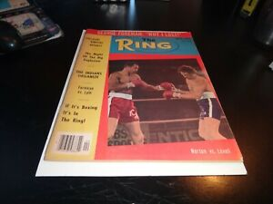 THE RING Boxing Magazine february  1976  Muhammad Ali who's the best champion