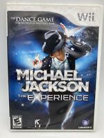 Michael Jackson: The Experience (Nintendo Wii, 2010) Tested - CIB Complete