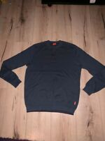 Hugo Boss Orange Pullover Herren Strick  Designer Sweatshirt Pulli S