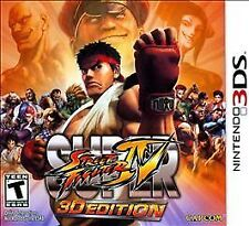 "Brand New ""Sealed"" Super Street Fighter 4 -- 3D Edition (Nintendo 3DS, 2011)"