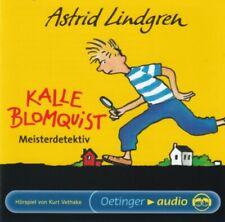 Astrid Lindgren - Kalle Blomquist Meisterdetektiv - CD -