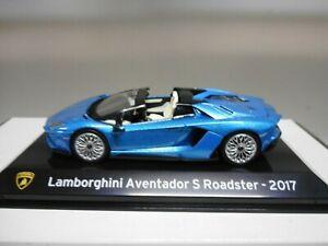 LAMBORGHINI AVENTADOR S ROADSTER 2017 SUPERCARS IXO 1/43