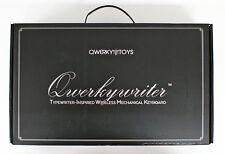 Qwerkytoys Qwerkywriter Retro Typewriter Mechanical Keyboard (Bluetooth) IBR
