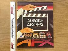 Amazing 31pg Aurora AFX 1982 RACING Full Line Canada Slot Car LAST YEAR Catalog
