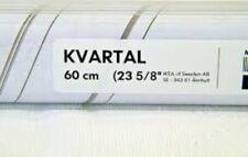 "IKEA KVARTAL Top and Bottom Rail 23 5/8 "" Aluminum Color 300.793.70 NEW"